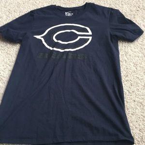 Nike men's small Chicago bears t shirt